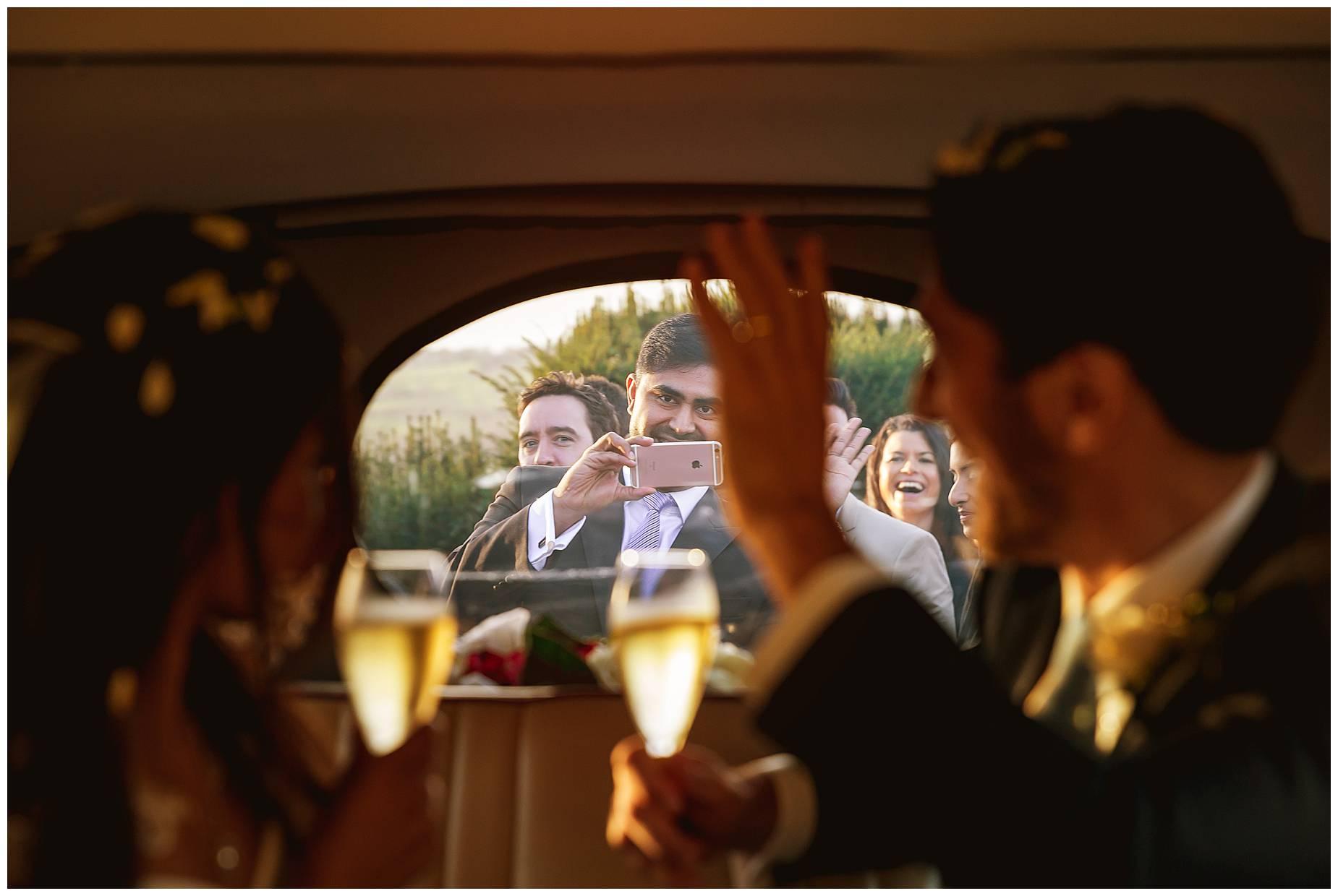 documentary wedding photographer hedsor house