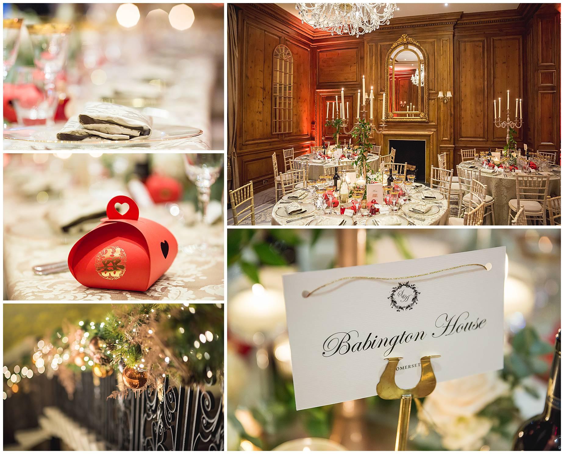 Christmas Wedding Hedsor House