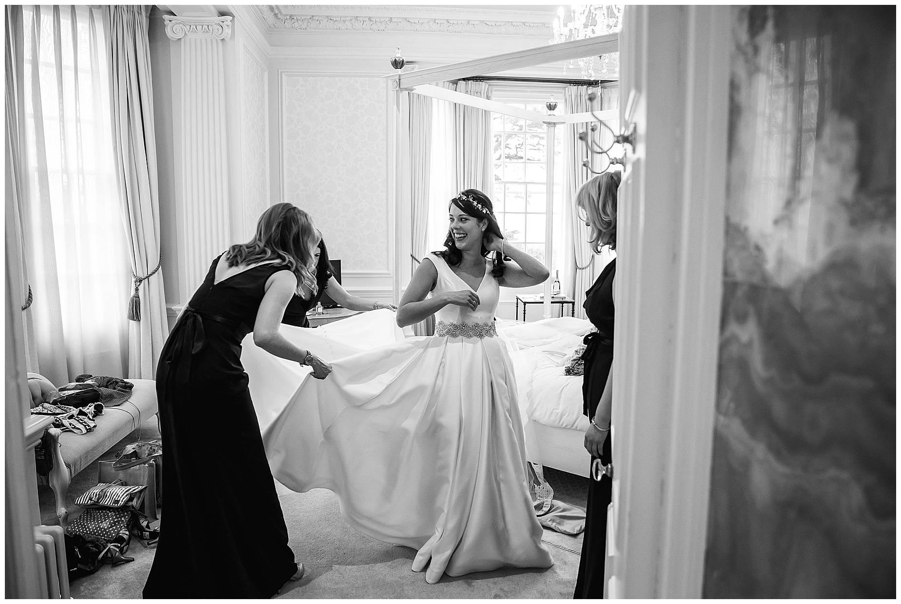 bride at hedsor