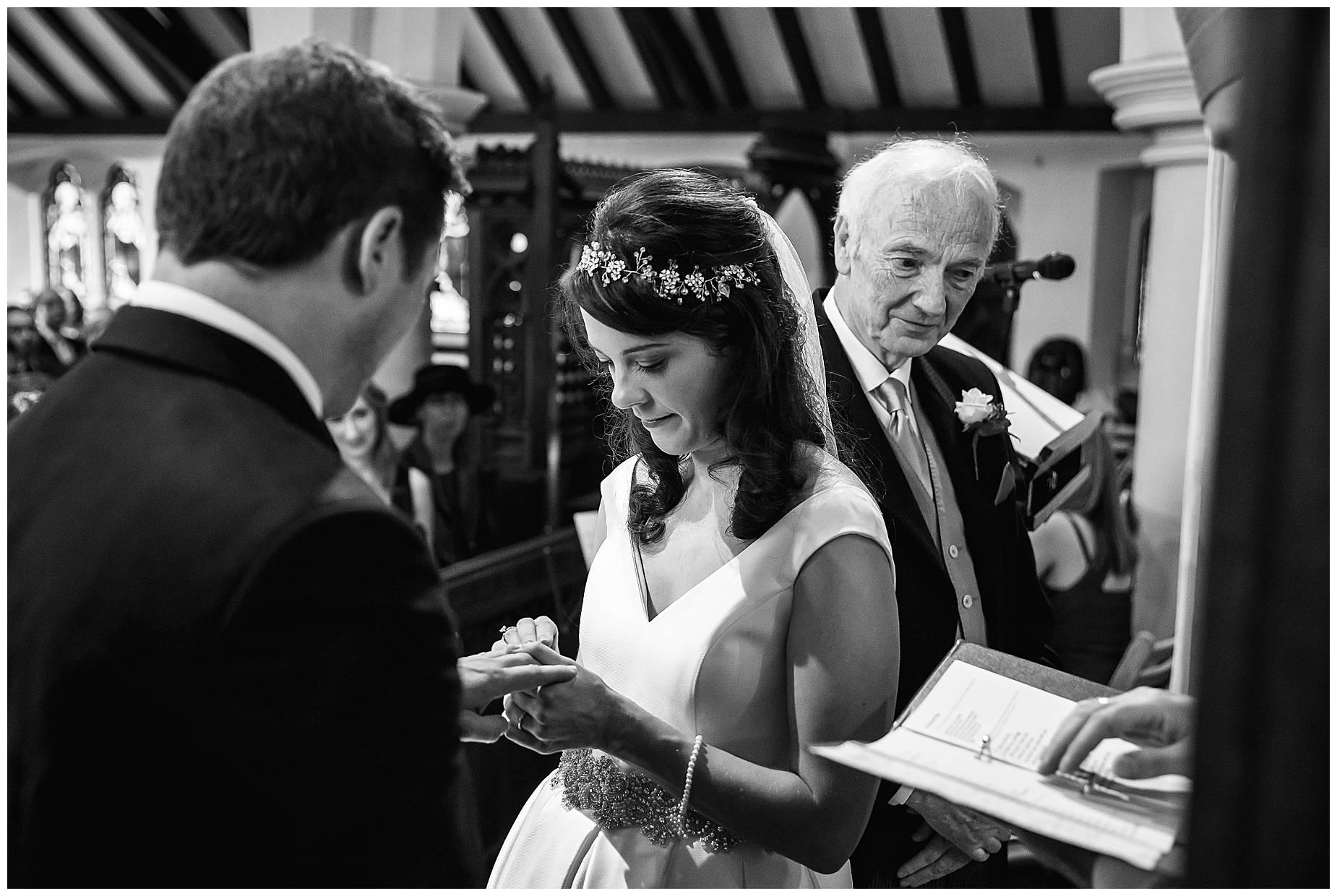 wedding ceremony hedsor