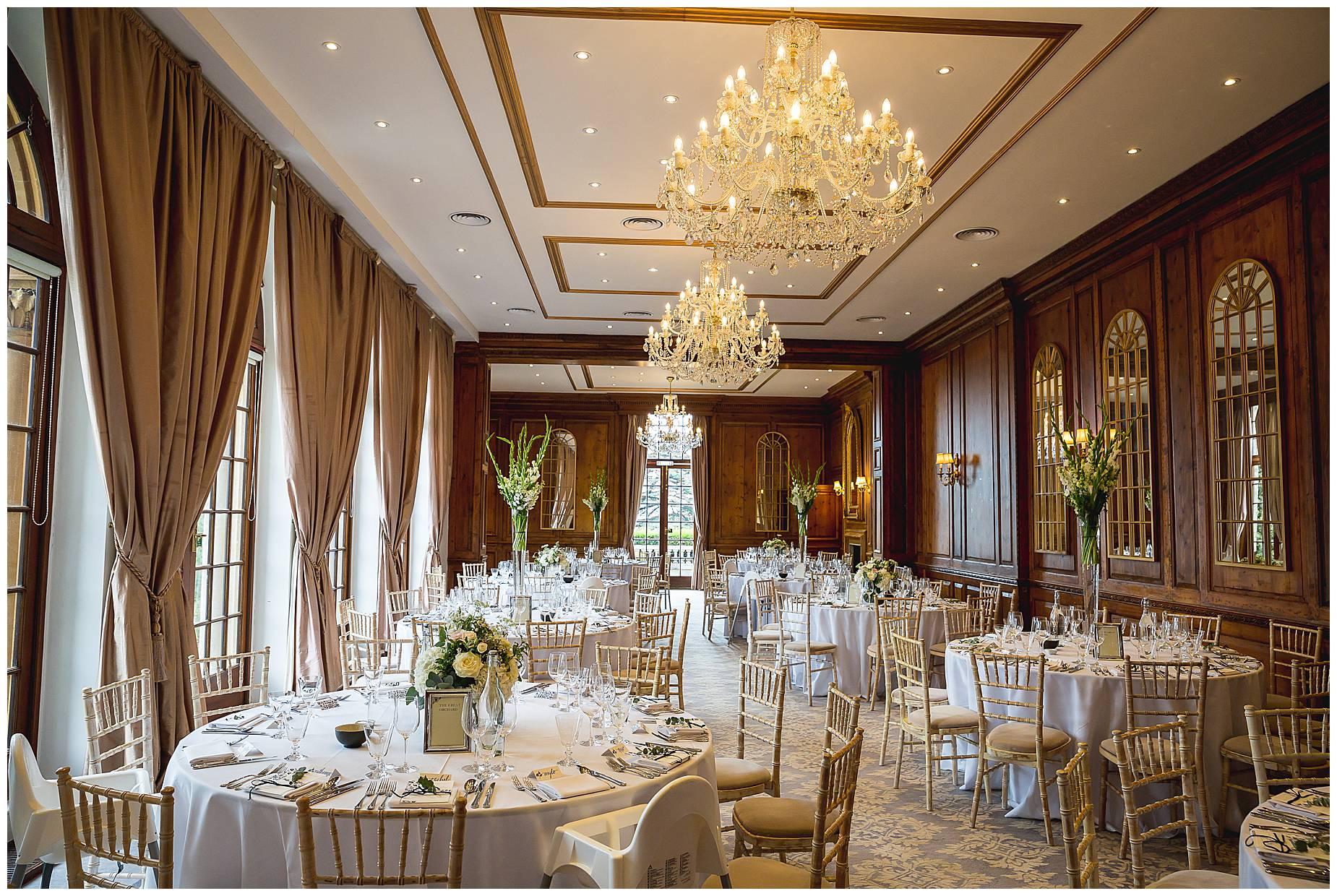 Hedsor House dining room