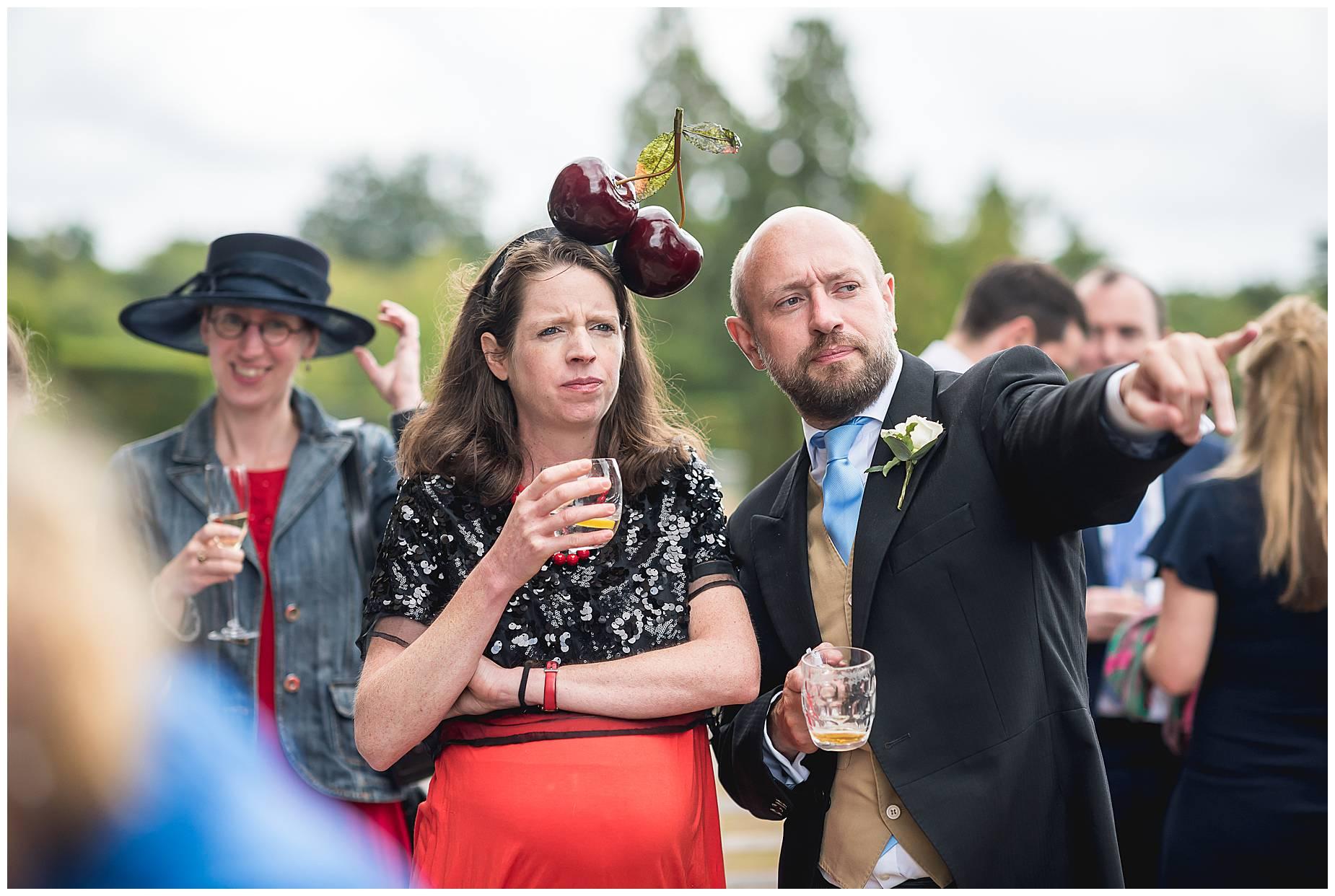 drinks at hedsor house wedding