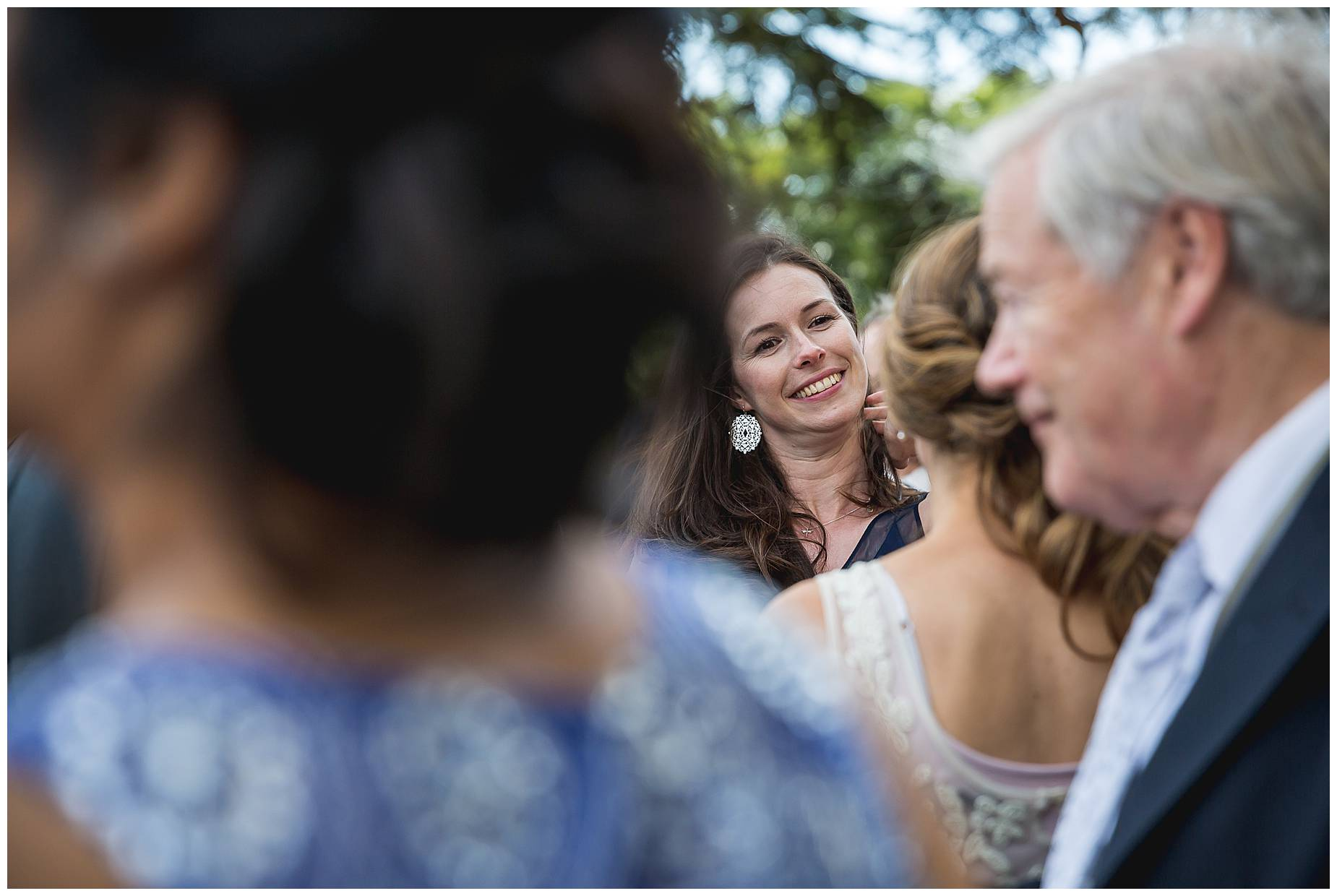 woman laughing hedsor house wedding