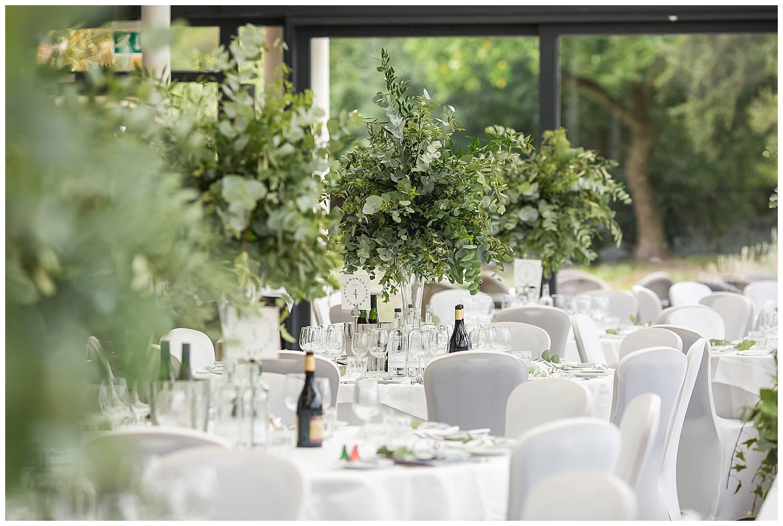 Cannizaro House Wedding set up