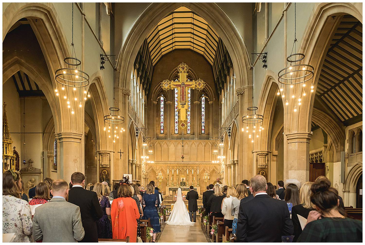 wedding at St Mary's Cadogan Street SW3