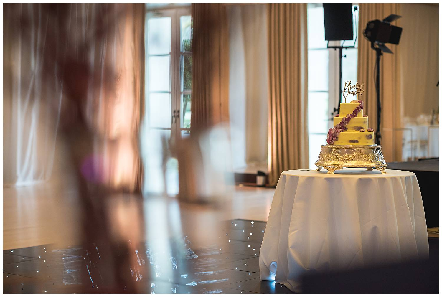 Cake at the Hurlingham Club