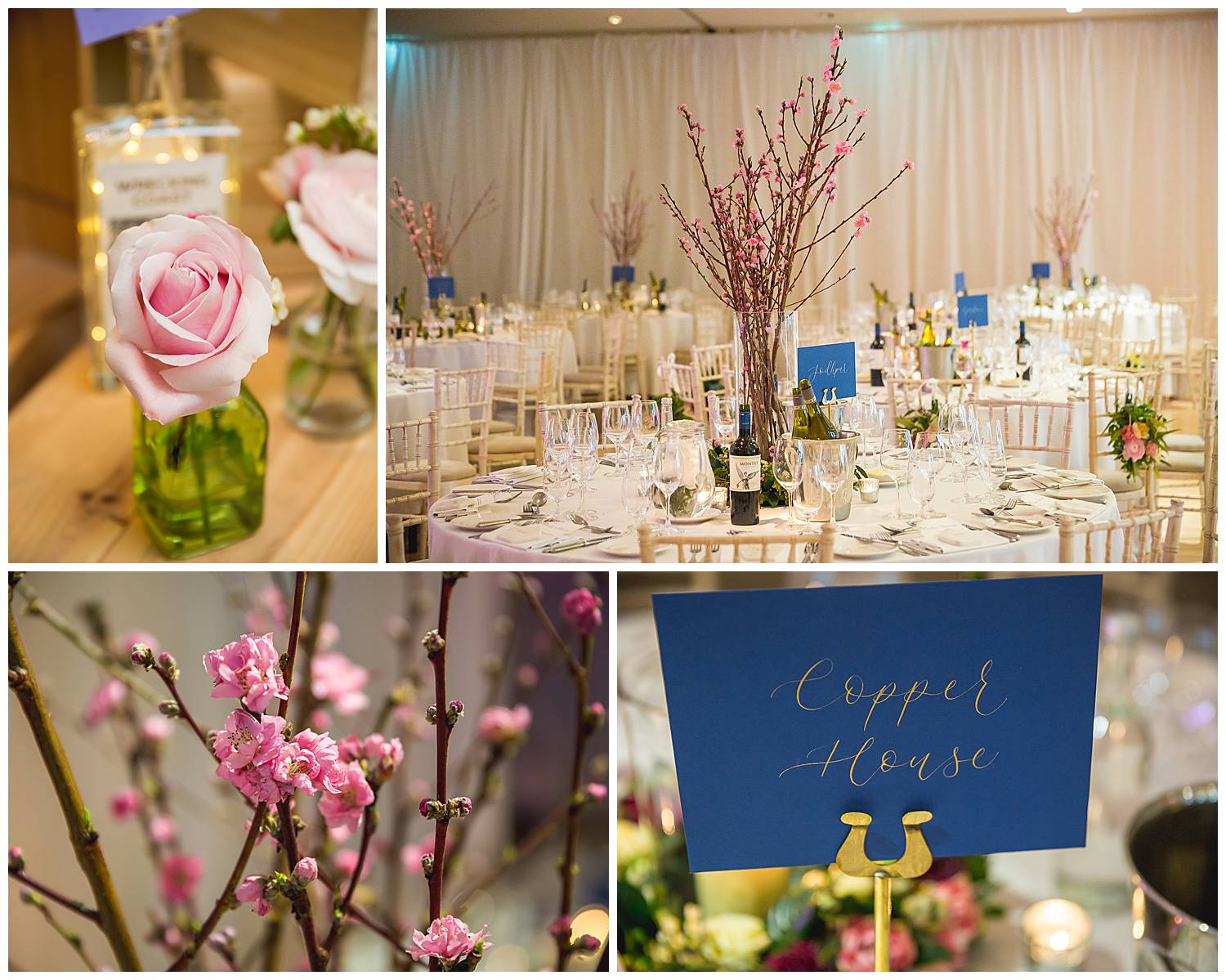 Hurlingham Club wedding table decorations