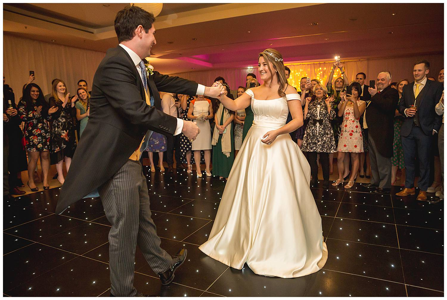 First dance at The Hurlingham Club