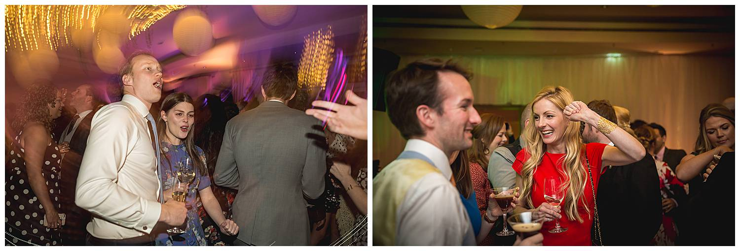 dancing at Hurlingham Club wedding
