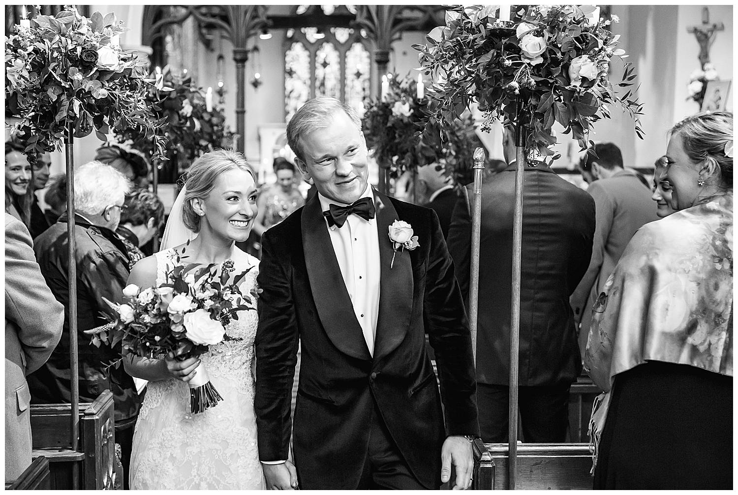 married at hedsor church