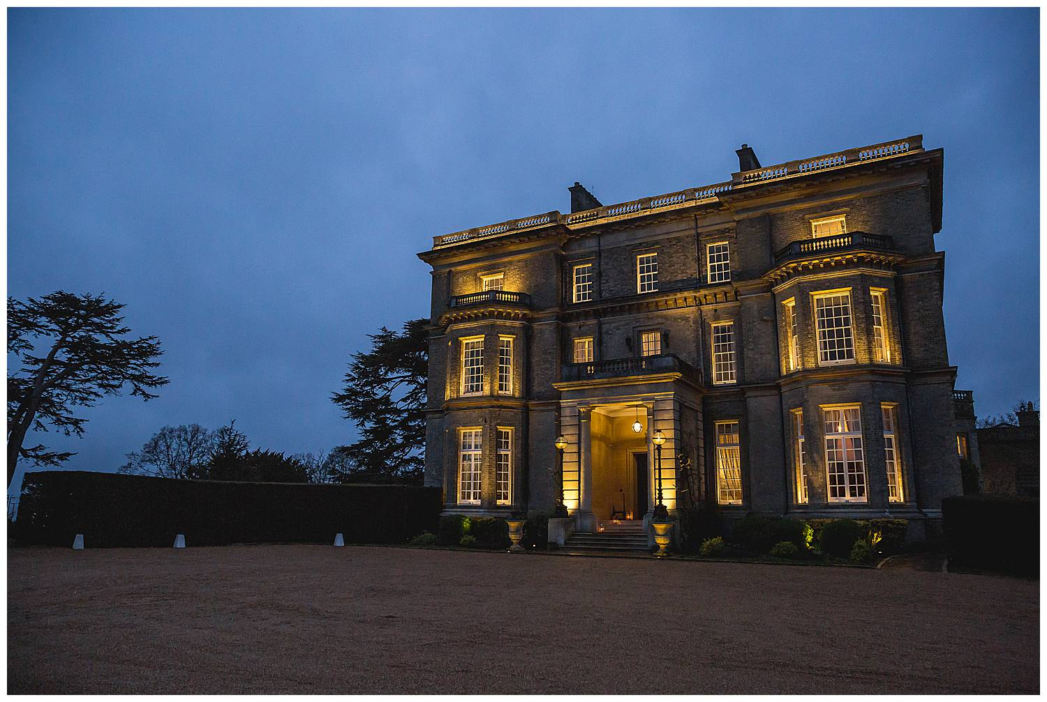 Hedsor House at night