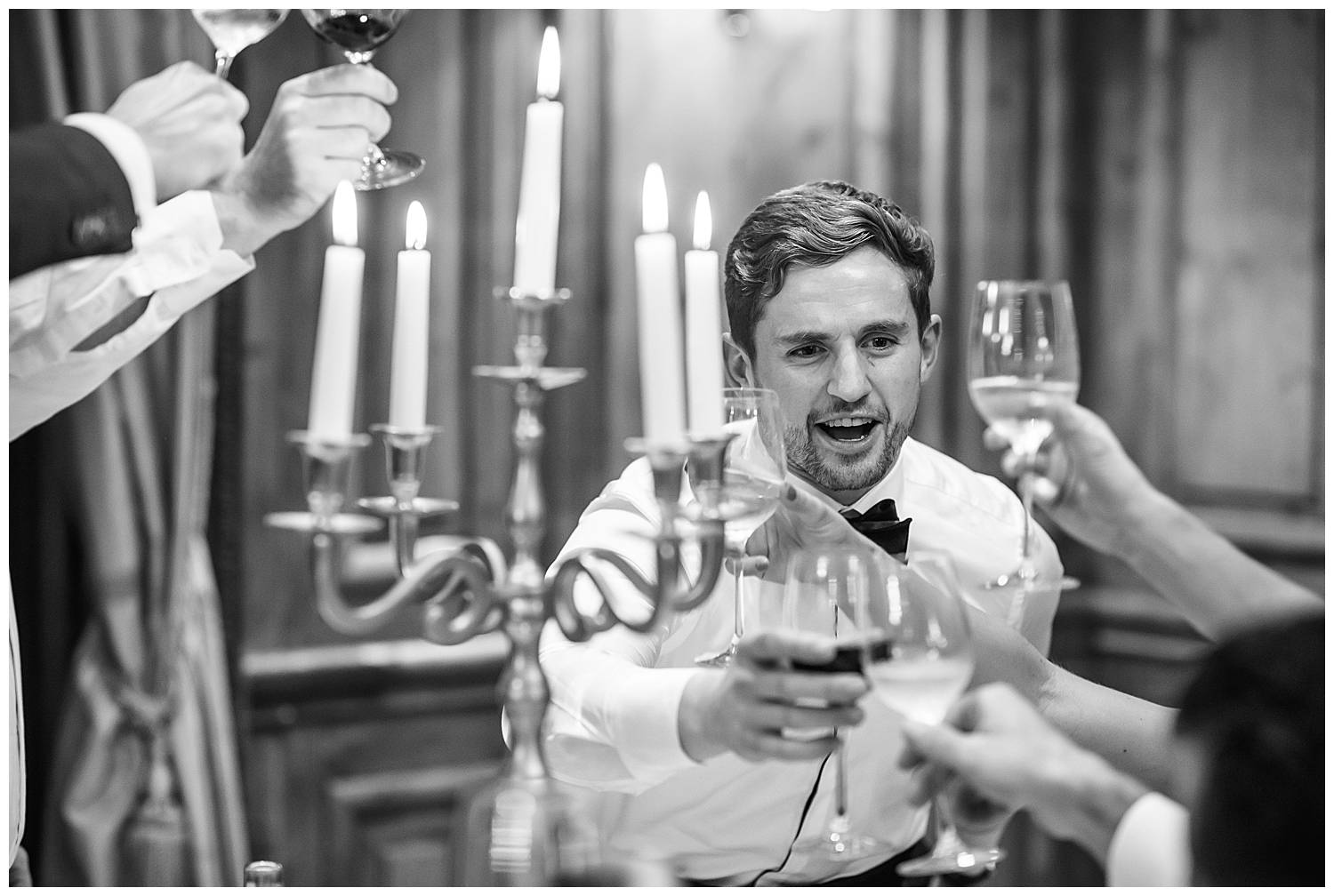 toasts at hedsor house