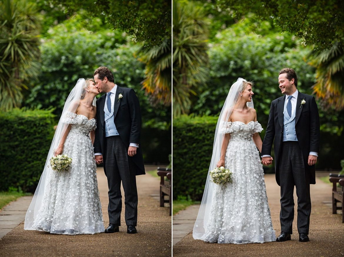 wedding photography Belvedere Holland Park