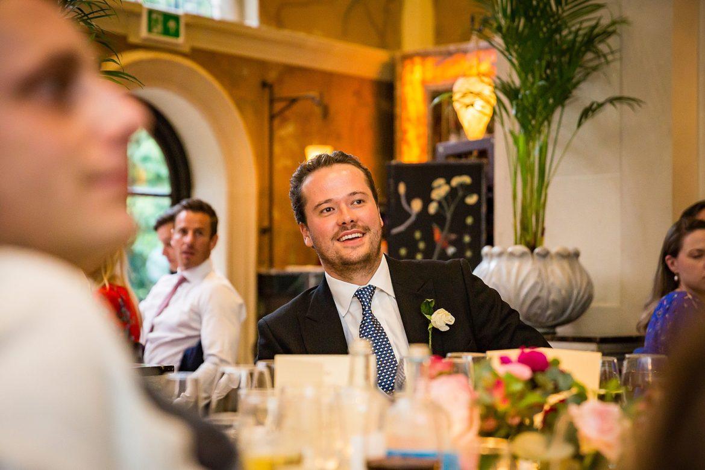 groom listens
