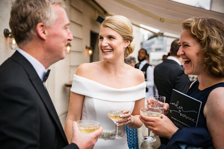 The Ned Wedding reception