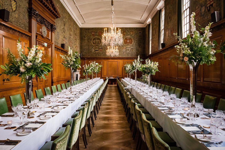 Dinning room The Ned Wedding