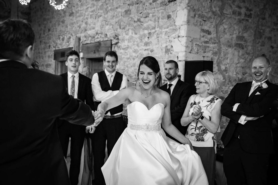 first dance at Notley Abbey Wedding