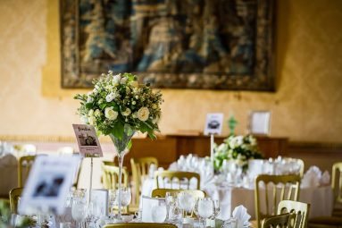 tables for wedding Brocket Hall