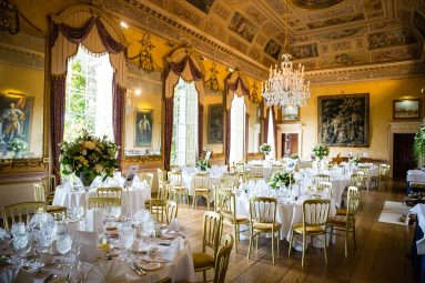 wedding tables Brocket Hall