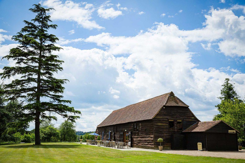 Loseley Park Wedding Barn