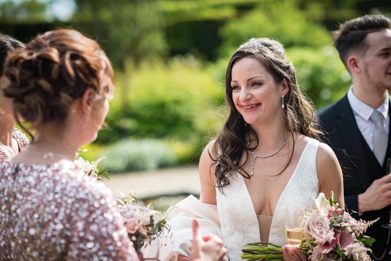 bride at Loseley Park