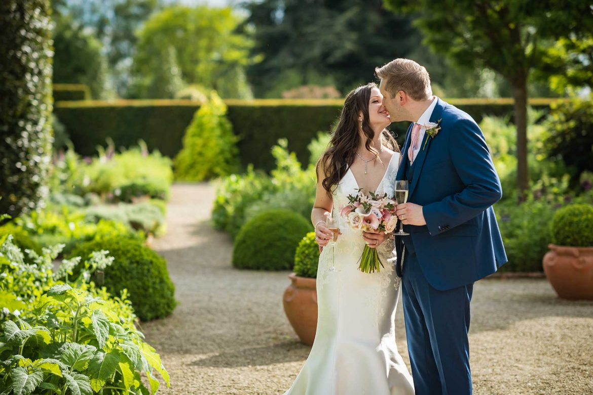 Loseley Park Wedding couples pictures