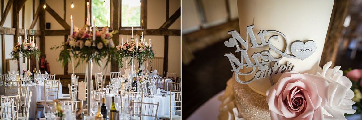 table details Loseley Park