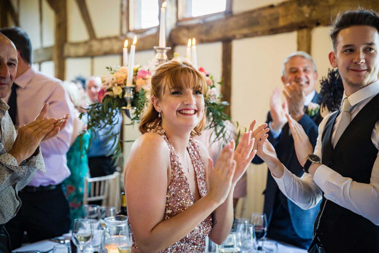 guests clap