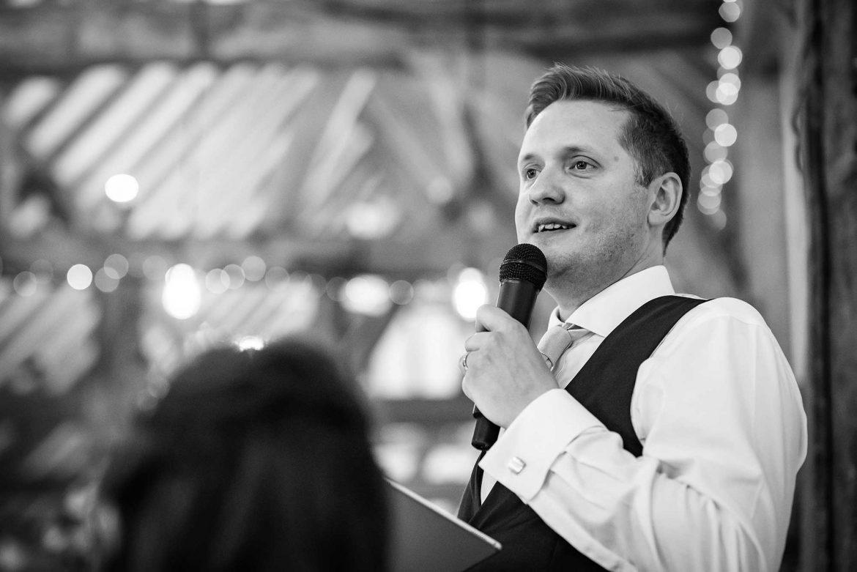 groom give his speech