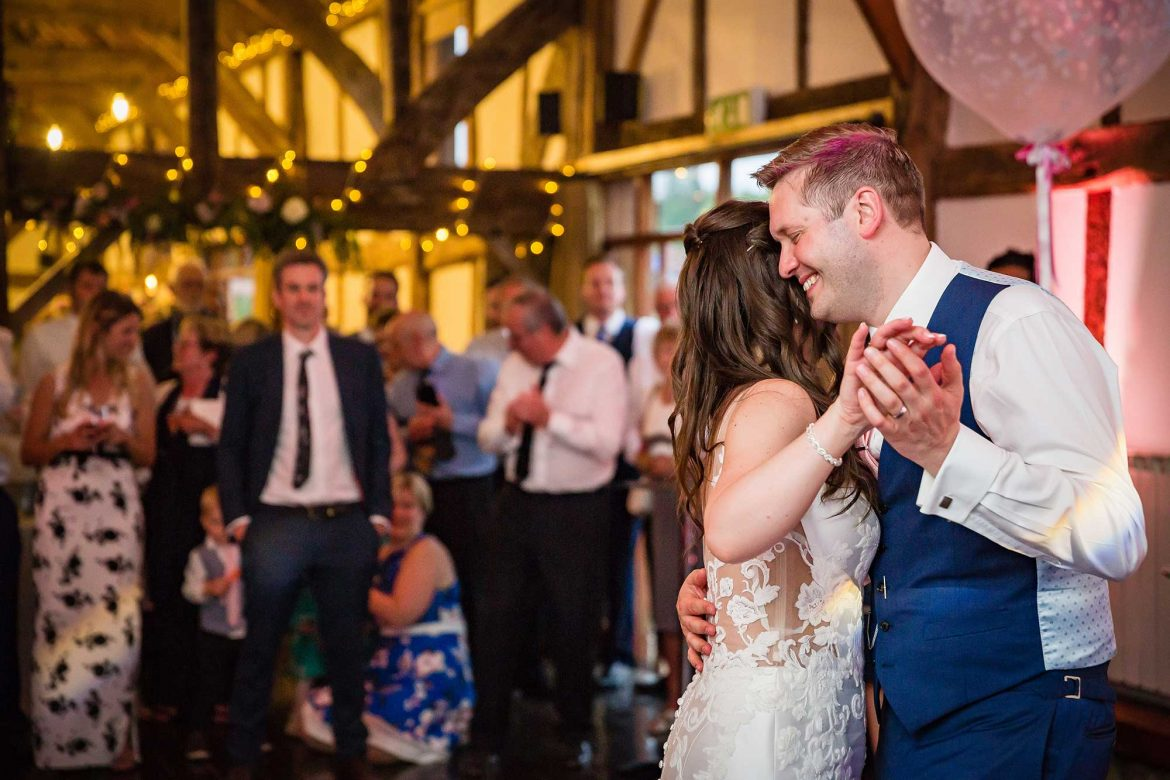First dance at Loseley Park