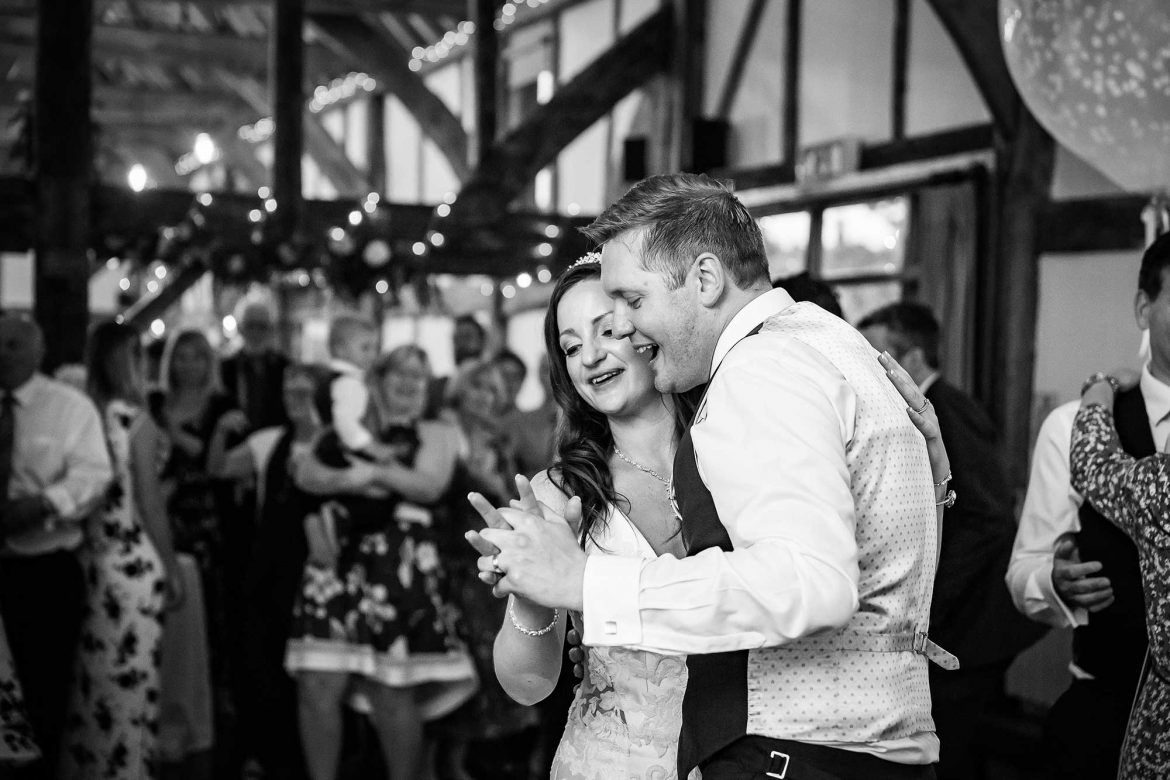 Loseley Park Wedding dancing